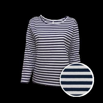 Dámské námořnické tričko dlouhý rukáv Varianta 1 889d416757
